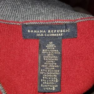 Banana Republic Jackets & Coats - Banana Republic Silk & Cashmere Sweater Med Excell